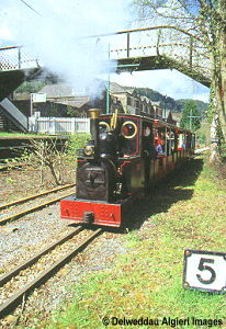 Photographs - All Aboard at Betws