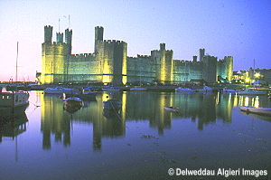 Photographs - Caernarfon Castle Illuminated