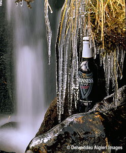 Photographs - Guinness bottle and Icicles