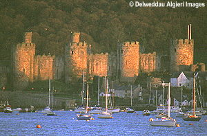 Photographs - Conwy Castle and Boats