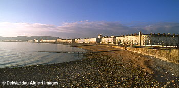 Photographs - Llandudno Promenade at Dawn.