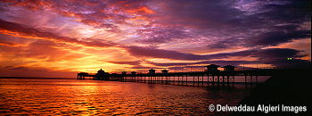 Photographs - *Llandudno Pier at Sunrise-panoramic*