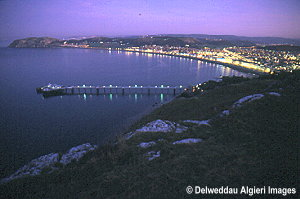 Photographs - Llandudno Pier at night