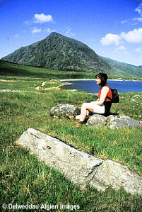 Photographs - Walker at Cwm Idwal