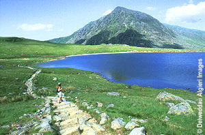 Photographs - Circular path, Cwm Idwal