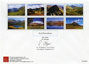 Other Cards and Notepads - Mountains of North Wales (pack of 8 cards)
