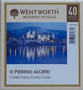 Micro Wooden Jigsaws - Conwy Castle