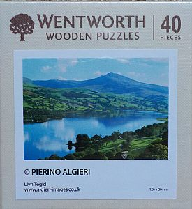 Micro Wooden Jigsaws - Llyn Tegid Bala