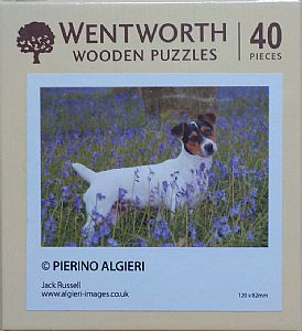 Micro Wooden Jigsaws - Jack Russell