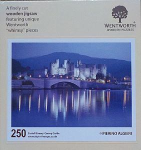 Maxi Wooden Jigsaws - Conwy Castle
