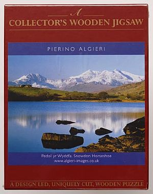 Maxi Wooden Jigsaws - Snowdon Horseshoe