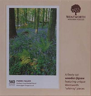Midi Wooden Jigsaws - Bluebell Wood