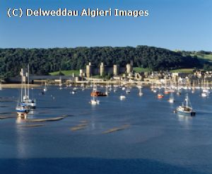 Photographs - Conwy from Deganwy