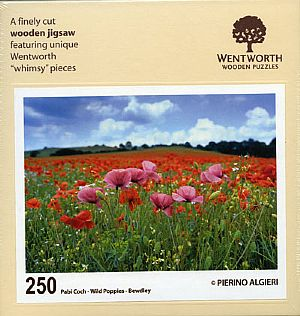 Maxi Wooden Jigsaws - Wild Poppies
