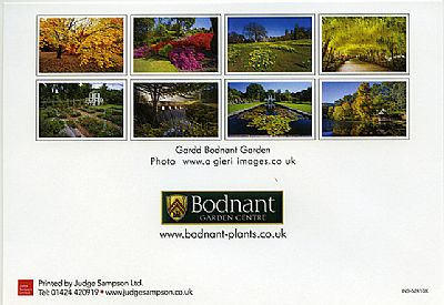 Other Cards and Notepads - BODNANT GARDEN CARDS.(OUT OF STOCK)