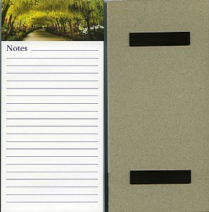 Other Cards and Notepads - Bodnant Garden Magnetic Memo Pad