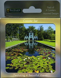 Placemat/Coaster sets - Bodnant Garden Coaster Set