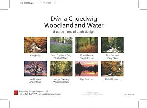 Other Cards and Notepads - Dwr a Choedwig/Woodland and Water
