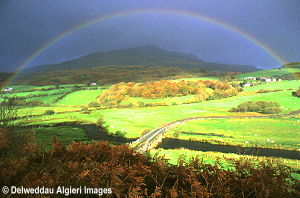 Photographs - Rainbow over Moel Siabod