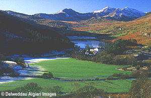 Photographs - Snowdon from above Capel Curig