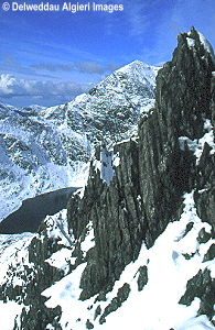 Photographs - Snowdon from Crib Goch
