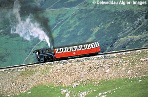 Photographs - snowdon mountain railway
