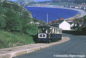 Photographs - Tram Climbing the Great Orme