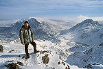 Pierino Algieri on Y Garn summit - click here for more info