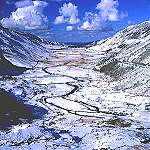 Nant Ffrancon in the Snow. - click here for more info