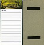 Bodnant Garden Magnetic Memo Pad - click here for more info